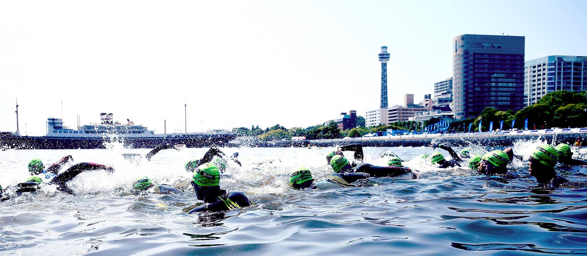 2021ワールドトライアスロンシリーズ横浜大会の 「横浜1口サポーター」