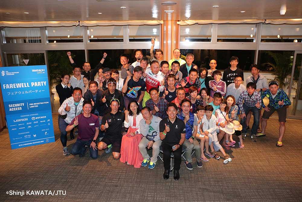ITU世界トライアスロンシリーズ横浜大会 エイジフェアウェル